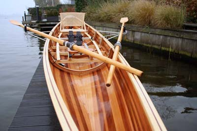 een strip-planked wherry